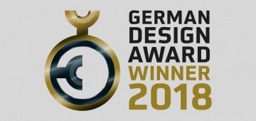 Winner of the German Design Award 2018