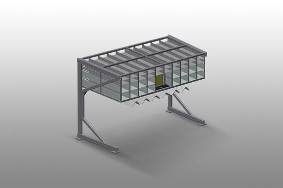 BR 36 Hardware rack