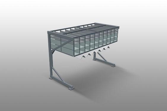 BR 40 Hardware rack