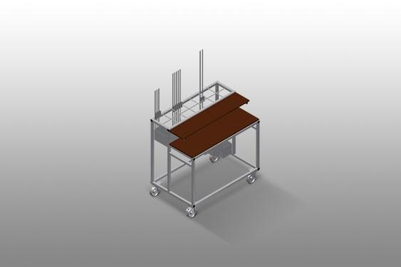 BW 7002 Hardware trolley
