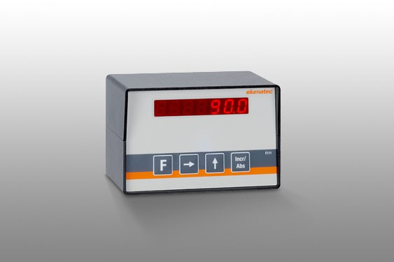 E 111 Manuelle Schnittlängenverstellung mit Digitalanzeige