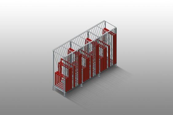 FPRM 10 Sash rack