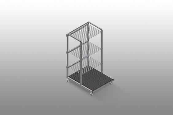 GFW 1200 Glass transport trolley
