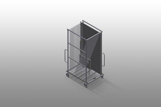 GFW 15 Glass transport trolley