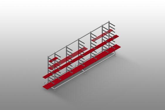 GLR 5000 Glazing bead rack