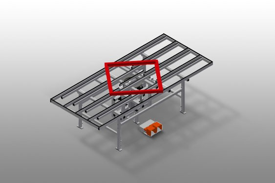 HD 3000 Lift and turn table