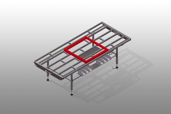 HT 3000 Horizontal table – Individual table