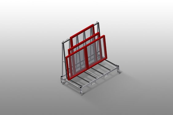 KW 2 Commissioning trolley