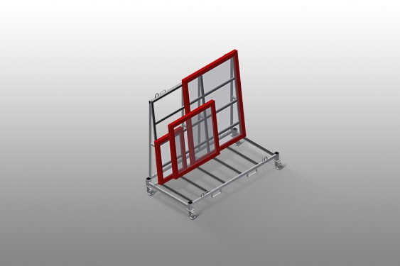 KW 4 Commissioning trolley