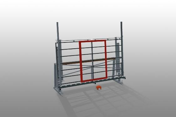 VE 3000/60 Inspection and glazing unit