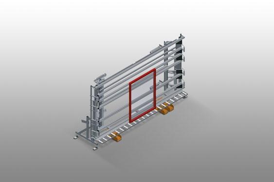 VE 3000 Inspection and glazing unit