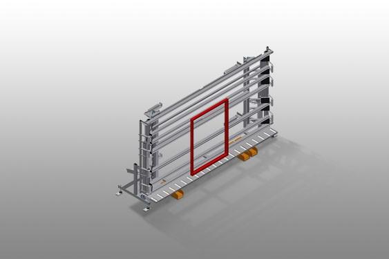 VE 4000 Inspection and glazing unit