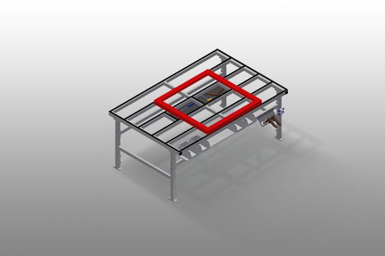 MT 2000 Assembly table