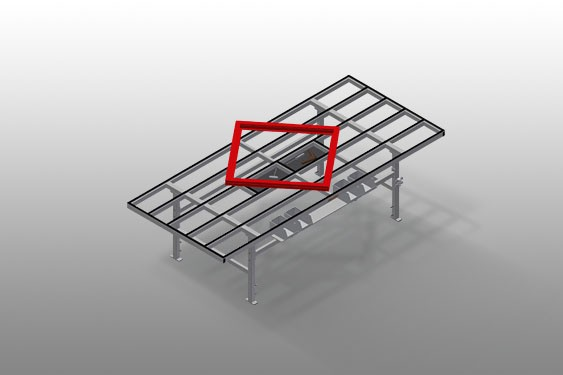 MT 3000 Assembly table
