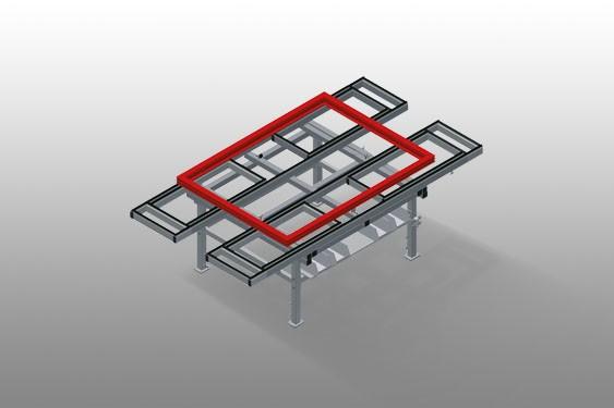 MTA 3000 Assembly table
