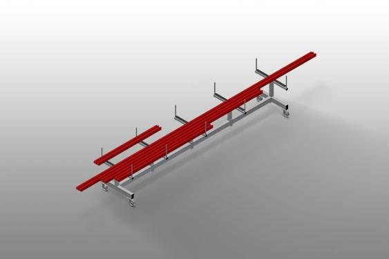 PLW 4000 Profile transport trolley