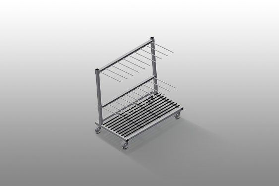 PWS 1400 Profile transport trolley