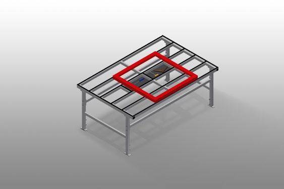 MST 2000 Sliding table