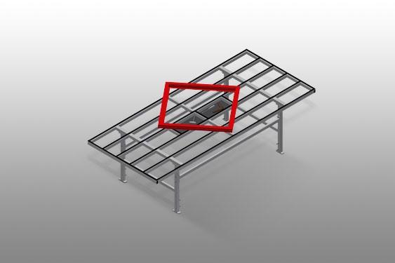 MST 3000 Sliding table