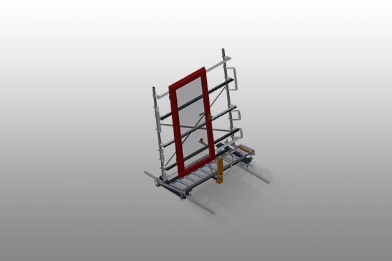 VR 2003 F - Vertical roller conveyor