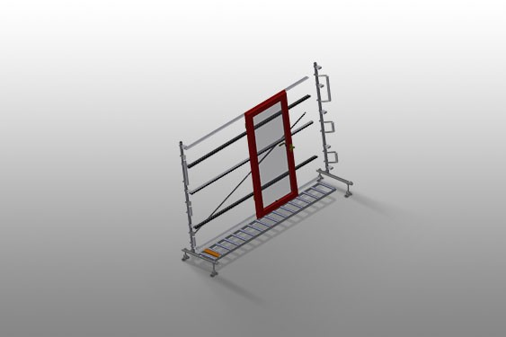 VR 3003 - Vertical roller conveyor