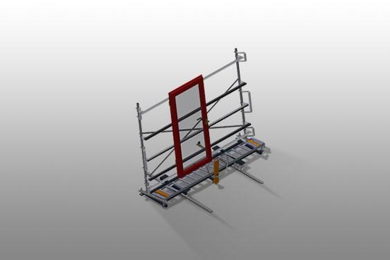 VR 4003 F - Vertical roller conveyor