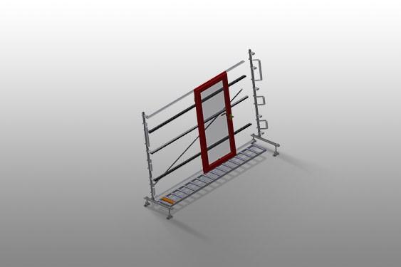 VR 4003 - Vertical roller conveyor