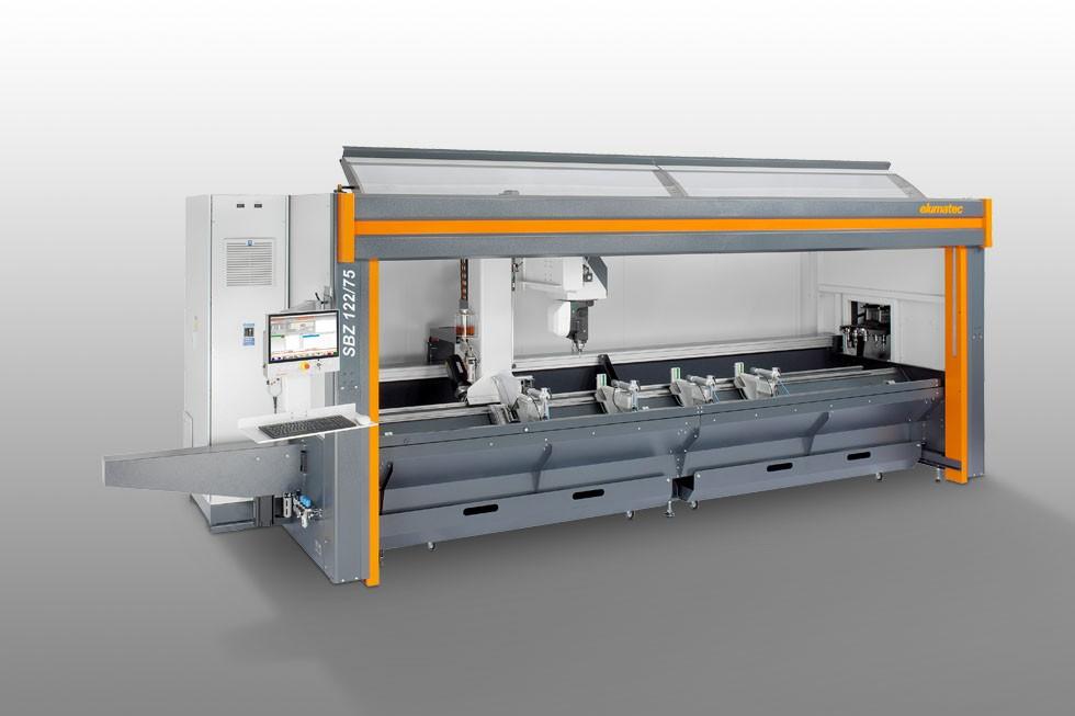 SBZ 122/75 - Profile machining centre Elumatec