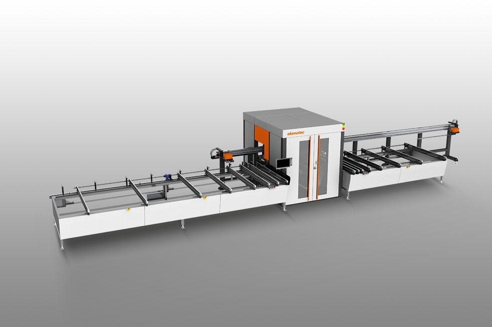 SBZ 618 - Profile machining centre Elumatec