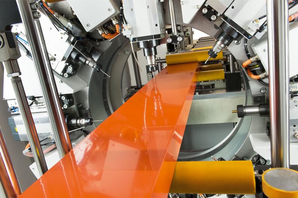 SBZ 628 – Profile machining centre machining station (2015) Elumatec