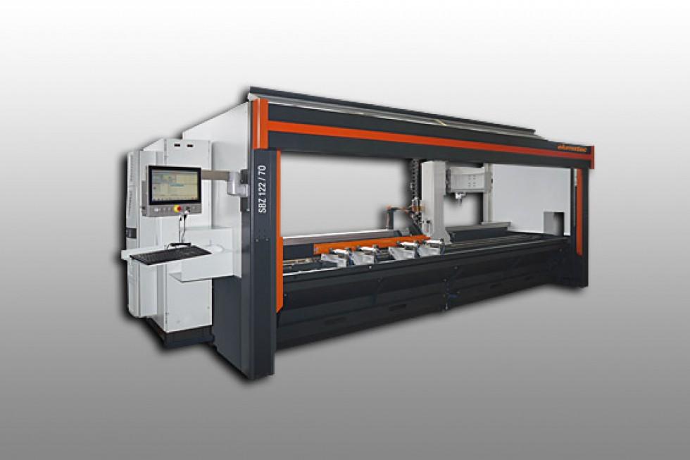 SBZ 122/74 Profile machining centre Elumatec